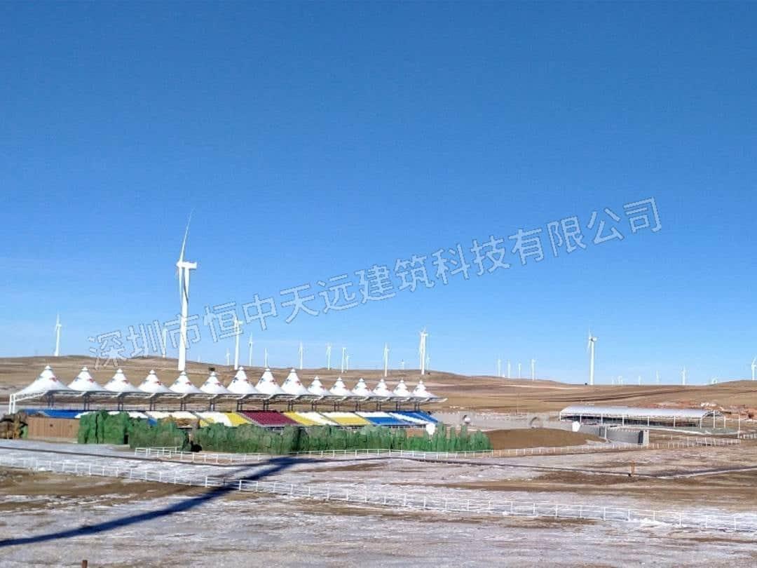 内蒙古辉腾锡勒草原马术国际小镇